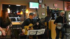 Grassanova (☁☂It's Raining, It's Pouring☂☁) Tags: grassanova band bluegrass singer guitar banjo bass ithacabakery ithacany upstateny fingerlakes people