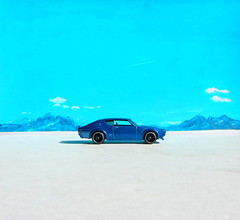 Hot Wheels Then And Now Nissan Skyline 2000 GT-R 2017 : Bonneville Salt Flats - 13 Of 14 (Kelvin64) Tags: hot wheels then and now nissan skyline 2000 gtr 2017 bonneville salt flats