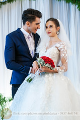 Couple Wedding event nikon (Hosting and Web Development) Tags: wedding bride bridegroom dress white flower smile hair happy red shoulder hand arm body beautiful eyes stand vertical indoor event two person couple people young