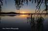 Sunrise over Lake Burley Griffn, Canberra (Anna Calvert Photography) Tags: australia canberra lakeburleygriffin landscape outdoors scenery sunrise kingston foreshore reflection water