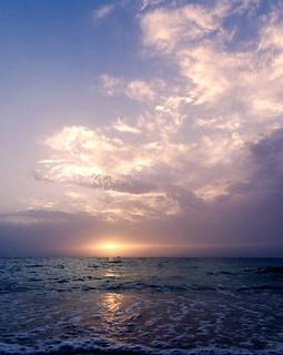 Jumeirah beach sunset, Dubai