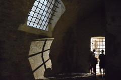 dark castle (Hayashina) Tags: moravia brno czechrepublic castle window shadow