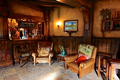 Inside The Green Dragon Inn (YY) Tags: newzealand hobbiton movieset shire hole hobbit lordoftherings greendragoninn tavern interior matamata