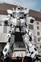 20180412 Gundam Unicorn (chromewaves) Tags: fujifilm xt20 xf 1855mm f284 r lm ois tokyo japan divercity gundam