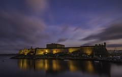 Castillo de San Antón - La Coruña (Alphonso Mancuso) Tags: castillodesanantón museoarqueológicocoruña coruña galicia españa nocturna canon6dmarkii canon24105f4l