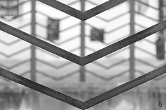 """Project """"The geometric city"""" (nieves.valderrama) Tags: abstract architexture blackandwhite blackandwhiteperfection blackandwhitephotography blacknwhite bnw bokeh bw bwphotography city composition geometric geometry laciudadgeometrica lines madrid minimalism minimalist minimalistic monochrome nofilter outdoor pattern picoftheday shapes spain symmetry"""