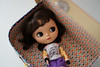 Blythe A Day 22 April 2018 - Shirley You Jest: Anything involving puns. (omgdolls) Tags: blythedoll blythe sbl savetheanimals licca lily blytheaday april