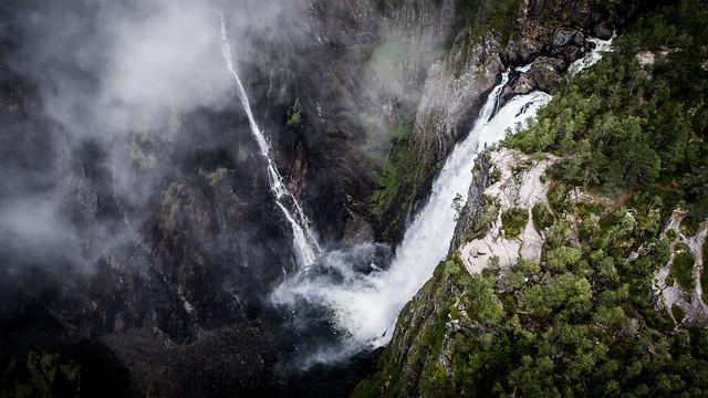 The Vøringsfossen Waterfall