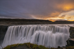 Dettifoss at Dawn (Mike Ver Sprill - Milky Way Mike) Tags: dettifoss iceland dawn sunrise landscape nature waterfall water fall powerful