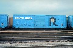 C&NW 718119 (Chuck Zeiler) Tags: cnw 718119 railroad boxcar freight box car cicero train routerock chuckzeiler chz
