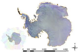 Proba-V Antarctic survey