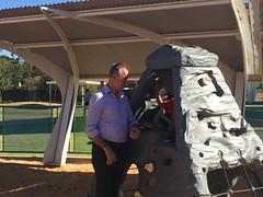 Simon Birmingham, Alice Springs, 24/04/2018