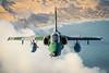 A-1 AMX (Johnson Barros) Tags: a1m aeronave brazilianairforce embraera1amx fab forcaaereabrasileira fotojohnsonbarros turbofanrollsroycespey807 natal rn brazil bra flying voo céu praia beach sea mar dune duna verde green