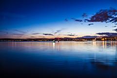 Oslo (morten f) Tags: oslo norge norway city night kveld dark light water vann hav hovedøya boat sea ocean blue blått