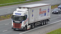 WU18 BWZ (panmanstan) Tags: scania ng s500 wagon truck lorry commercial freight transport haulage vehicle a1m fairburn yorkshire