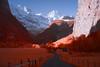Valley Glow (Edd Noble) Tags: infrared infraredphotography colourinfrared ir redfilter sonya7 zeiss55mmf18 switzerland lauterbrunnen