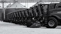 Combine Row - Near Last Chance, CO (Christopher J May) Tags: combine farm equipment machinery colorado pentaxkx tamronsp180mmf25ldif