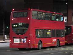 Arriva London T199 Alexander Dennis Enviro400 SN08AAE - rear (FF3170) Tags: west croydon adl e400