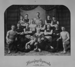 Winnipeg Gymnasts, 1890 [LAC] (vintage.winnipeg) Tags: winnipeg manitoba canada vintage history historic sports