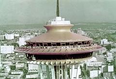 Space Needle during World's Fair, 1962 (Seattle Municipal Archives) Tags: seattlemunicipalarchives seattle spaceneedle seattlecenter century21 worldsfairs 1960s