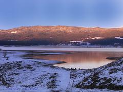 lago cecita... sunset (Domenico F. Greco photo) Tags: sila lago lake acqua water sky landscapes paesaggi cosenza calabria lagocecitanatura nature