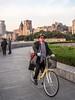 LR Shanghai 2016-362 (hunbille) Tags: birgitteshanghai6lr china shanghai huangpu river bund thebund promenade zhongshan road zhongshanroad skyline tower shanghaitower shanghaiworldfinancialcenter world financial center jinmaotower jin mao orientalpearltower oriental pearl bicycle