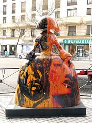 "Menina ""Legado soterrado"", de Iciar Yllera (Madrid) (Juan Alcor) Tags: iciaryllera legadosoterrado mcdm callealcala meninasmadridgallery 2018 madrid meninas menina españa spain"