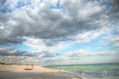 Nowhere Fast (donna.chiofolo (on and off)) Tags: nature water beach sand clouds sky gulf atmosphere mood light attitude nikon florida navarre movement beautifulday sunset