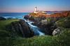 Fanad Head Lighthouse (030mm-photography) Tags: rot fanadhead leuchtturm lighthouse ireland uk europa europe natur nature landschaft landscape coast küste sonnenuntergang sunset travel reise