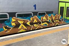 #stolenstuff #graffitiblog #basty #check4stolen #flickr4stolen #graffiti #graffititrain #benching #instagraff #panels #vivalto #running #writing (stolenstuff) Tags: instagram stolenstuff graffiti graffititrain benching