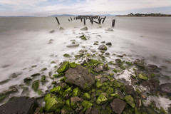 fleming point (eb78) Tags: ca california longexposure landscape albany flemingpoint eastbay pier abandoned decay