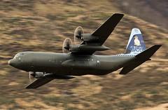 206 SQUADRON (Dafydd RJ Phillips) Tags: zh866 c13 slow shutter hercules 206 sqn squadron low level aviation raf force air royal brize norton c130