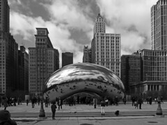Art Field trip to the Chicago Art Institute (army.arch) Tags: students art fieldtrip museum artinstitute chicago illinois il bean cloudgate