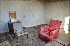 Asylum Consultation (Michelle O'Connell Photography) Tags: asylum sanitorium mentalasylum mentalinstitute mentalhospital scotland abandoned creepy abandonedchair derelict michelleoconnellphotography