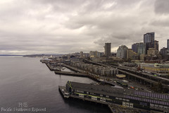 Waterfront 8645 (All h2o) Tags: seatttle waterfront pacific northwest pier sky water puget sound landscape city seattle washington buildings building cityscape