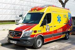 Mercedes Benz SPRINTER SAMUR Madrid (Martin J. Gallego. Siempre enredando) Tags: emergency emergencyvehicles emergencia emergencias 112 911 ambulance ambulancia mercedesbenz mercedes sprinter mercedessprinter mercedesbenzsprinter samur 100v10f