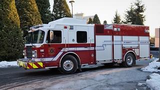Vancouver Fire & Rescue Services Rescue Engine 15
