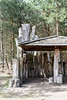 Wooden Shelter (simonevanbergen) Tags: 2018 landgoeddeutrecht netherands simonevanbergen spring svb tower estate land marshland nature naturereserve swamp trees watchtower water
