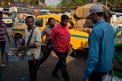 What Next ! (SaumalyaGhosh.com) Tags: people color india street streetphotography kolkata fuji xt2 red yellow