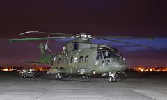 Merlin (Treflyn) Tags: royal navy agusta westland aw101 merlin hc3 zj130 under lights rnas yeovilton threshold aero night shoot photo charter