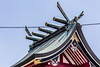 Koya Akagi (ColinParte) Tags: shinto shrine koya akagi roofwork roof traditional japan japanese temple matsudo shimmatsudo religion