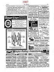 """""""Die Mark"""" 1907_1908 - 4. Jg. Nr. 9 S. 71 (zimmermann8821) Tags: reklame anzeigen werbung wandern tourismus berlin brandenburg pension pensionen annonce grafik grafikdesign deutschesreich deutscheskaiserreich reichshauptstadt"""