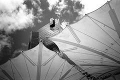 Fort Worth, Texas (RickC.) Tags: texas skyline urban sundance xa2 trix bwfp d76 tx400 olympus zone