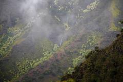 Kalalau Valley - Kauai, HI - 10-15-17  02 (Tucapel) Tags: kauai hawaii kalalau waterfall clouds landscape