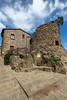 Ancient ruins (Mancini photography) Tags: ruins tower building village tuscany century sky wide
