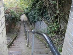 Mariners Score, Lowestoft, Suffolk (LookaroundAnne) Tags: gwuk handrail steps score marinersscore lowestoft suffolk path hill pathscaminhos