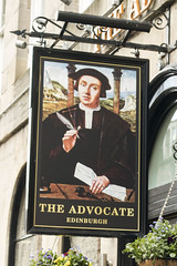 The Advocate, Edinburgh (newpeter) Tags: pub publichouses inns beer ale signs realale badges pubsigns edinburgh