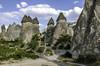 Hoodoo (geology) (Tony Tomlin) Tags: turkey goreme anatolia cappadocia hoodoo fairychimneys caves