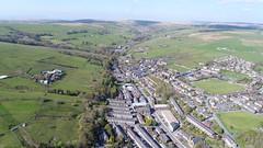 General views over Bacup. (North Ports) Tags: bacup rossendale lancashire general views aerial dji uav phantom burnley road wier
