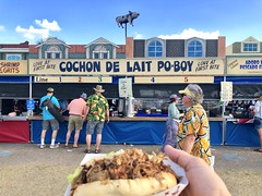 IMG_E7460 (David Danzig) Tags: jazzfest 2018 new orleans nola food cochon de lait po boy